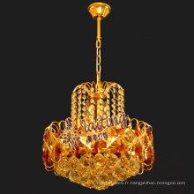 2017 Lustre en cristal de Bangladesh allume des lampes pour la table à manger