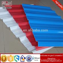 Großhandel UPVC Dachplatten Fliesen Wärmedämmung für Fabrik Dach