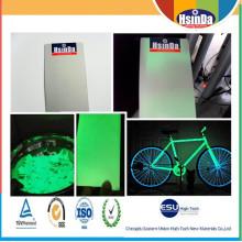 Thermosetting Electrostatic Spray Glow in The Dark Effect Powder Coating