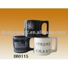 Sistema de cerámica de la taza al por mayor 12oz directo de la fábrica