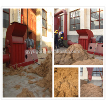 Machine à rectifier les fibres de coco à grande capacité Yugong