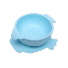 Children tableware baby feeding silicone baby bowl