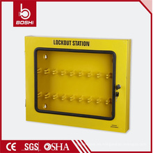 Estación de bloqueo de etiqueta de seguridad duradera de diseño