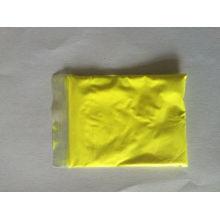 Poudre de pigment photoluminescente à couleur jaune