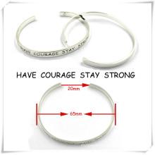 Custom Newest Simple Fashion Jewelry Cuff Bangle Bracelet