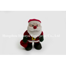 Factory Supply of Chindren Stuffed Plush Santa Toys