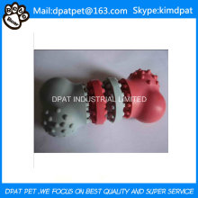 Custom Color Made 12*3.5cm Soft Rubber Tires Pet Toy for Dog