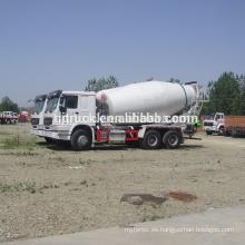 6X4 drive Sinotruk HOWO Camión mezclador de concreto / camión de cemento / camión de polvo