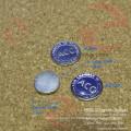 Hängende Platte 12mm graviert Anpassen der Abziehvorrichtungen für kreisförmige Reißverschlüsse