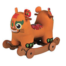 Rocha & passeio no cavalo Toy-Tiger