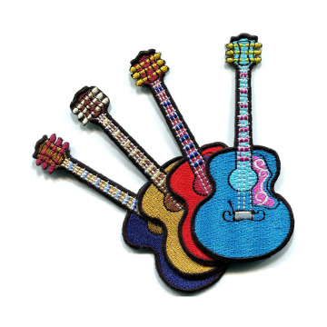 Gitar Alat Musik Bordir Patch