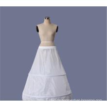 Großhandel organza hallow white crinoline Braut Hochzeit Spitze Petticoat