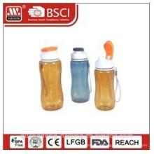bouteille d'eau en plastique alimentaire matériel grade, boire bouteille
