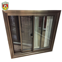 Ghana modern house style single frosted glass bathroom window with mosquito net