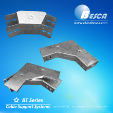 Cable de acero Trunking 90 Degree Gusset Bend Top