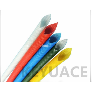 Silicone Coated Fiberglass Braid Sleeve for Cable Insulation