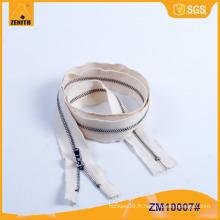 Metal Zipper Cotton Dyeable Tape pour jeans ZM10007