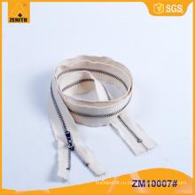 Металлическая молния хлопок Dyeable лента для джинсов ZM10007