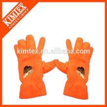 Вышивка логотипа Дешевые оптовые перчатки флиса