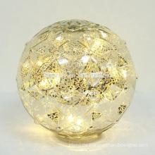 Make Battery LED lighted UP Christmas Balls