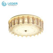 LEDER Cristal Lustre Plafonniers
