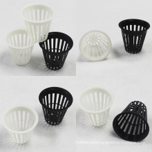 2 Inch Plastic Net Pot Hydroponic Growing Plant Mesh Microgreen Plastic Indoor Vertical for Nft Channel Hydroponics System