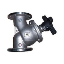 Válvula de balanceamento hidráulico de aço inoxidável DN20