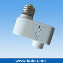 E27 Suporte de lâmpada do sensor de microondas