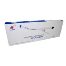 Medizinische Tube Einweg-Rundsteckverbinder Chirurgische Geräte ISO für Magen