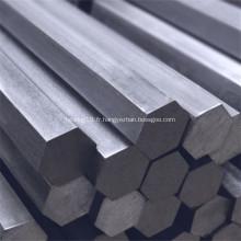barre hexagonale en acier allié