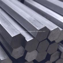 barra hexagonal de liga de aço