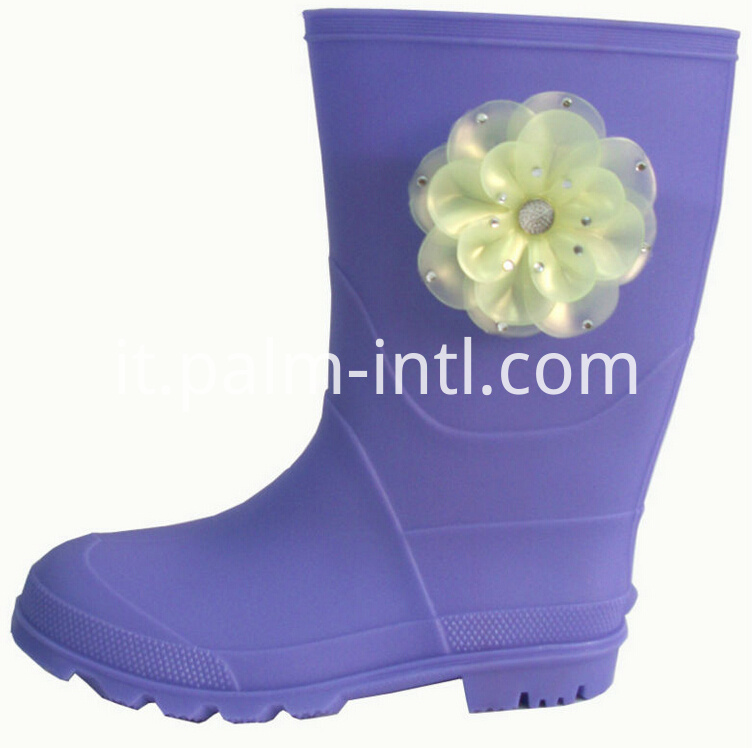 Injection PVC Rain Boots