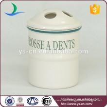 YSb50062-01-tbh European design dolomite bath toilet brush holder products