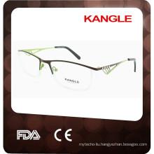 2017 New Lady trendy eyeshape metal optical frames, New eyeglasses
