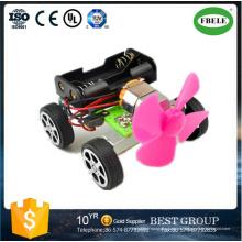 Bricolaje Energía Eólica Mini coche Ciencia y Tecnología Fabricación Modelo para la Educación