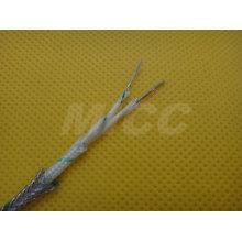 Thermocouple Extension wire Type KX-FG/FG/SSB-7/0.2x2-IEC