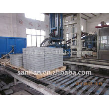 used concrete hollow block brick making machine hot sale in india