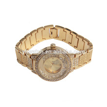 fashion lady diamond stones butterfly design watch for woman