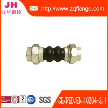 Carbon Steel Flange Yellow DIN2502 Pn16 and Rubber Joint
