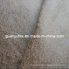 Bronzeando a tela de imitação de couro da camurça para estofos usa