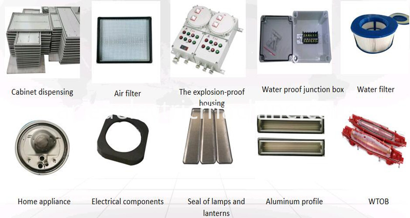 The Producted Samples By Foam Sealing Machine 1