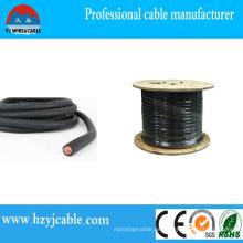 Kupferleiter Gummi / PVC Isolierung Flexibles Schweißkabel