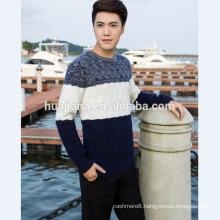 5GG knitting man's cashmere fashion sweater