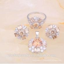 2018 imitation indienne bijoux ensemble bijoux d'imitation exportation bijoux plaqués rhodium est votre bon choix