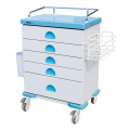 Hospital Steel 5-Layer Medicine Box Medicine Trolley
