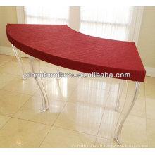Plastic wedding decoration dining table XY0316