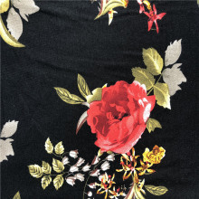 Hot sale classic rayon strentch fabric custom printed