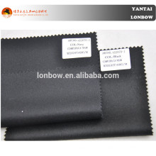 Black and dark navy 30% cashmere fabric for fall and winter coat