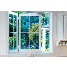 Aluminum closer bifold windows