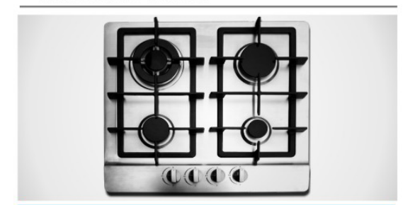 70cm hob Stainless Steel Gas Hob